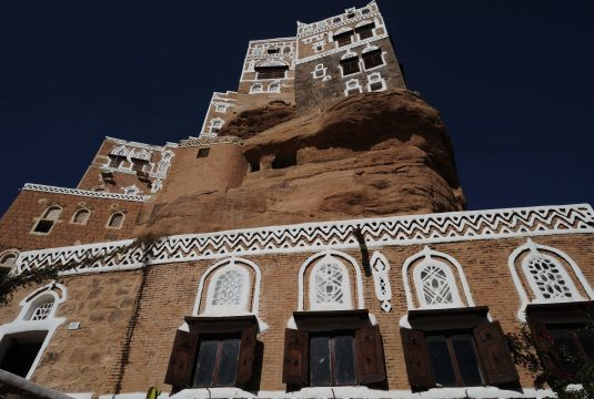 YEMEN, Wadi Dhar, Sana'a area