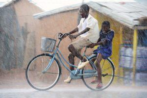 Ghana, rainy season